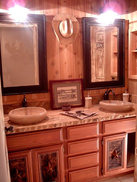 dustyn new bath room on pinterest cowboy bathroom
