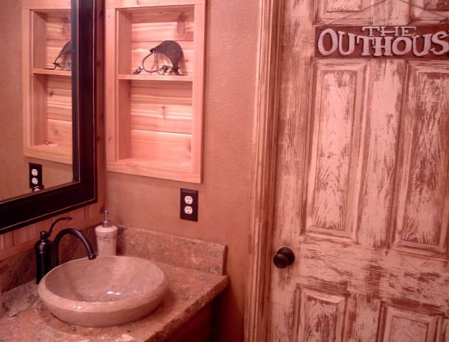 1000 images about my outhouse themed bathroom on